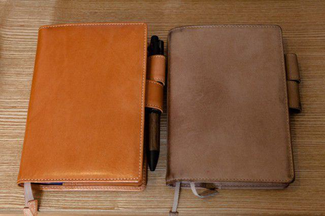 新旧のほぼ日手帳