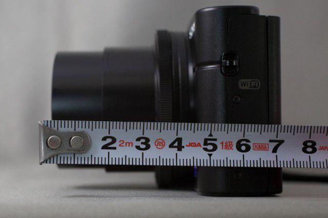 レンズの長さ