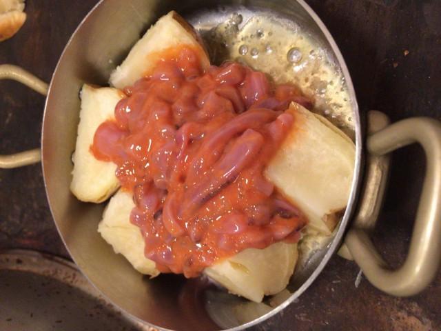 ジャガイモと塩から