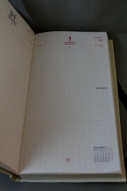 1日1ページタイプです